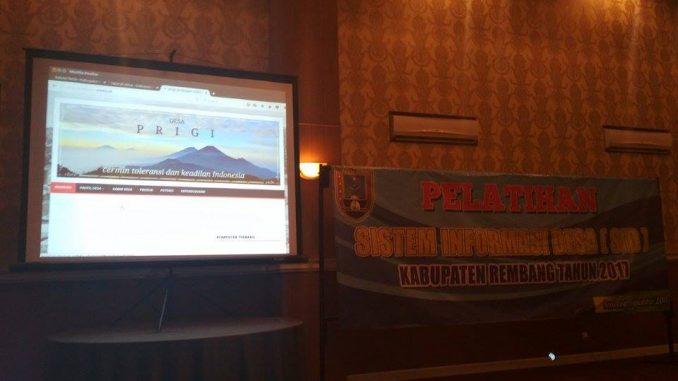 Pelatihan SID di Hotel Fave Rembang tgl 13-14 September 2017